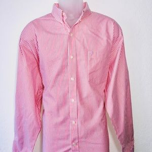 Izod Men's Shirt Long Sleeve Size XL